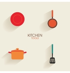 Abstract kitchen tools vector