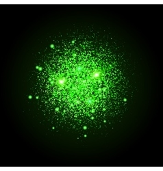 Shiny particles shape sparkling background vector