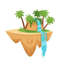 Game tropic island vector