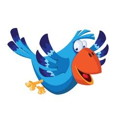 Funny bird vector