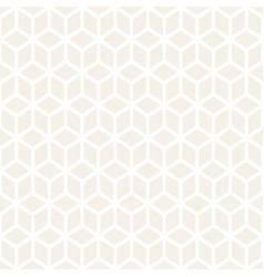trendy monochrome line lattice seamless vector image