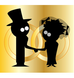 Wedding bands vector