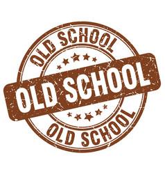 Old school stamp vector
