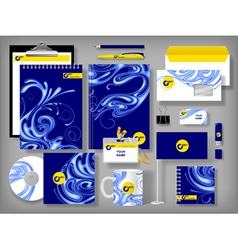 Selected Corporate Templates vector image