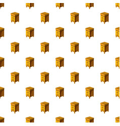 Beehive pattern vector