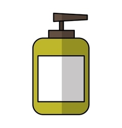 Bottle cream spa product vector
