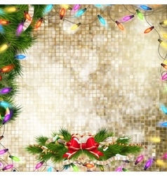 Christmas decoration EPS 10 vector image vector image