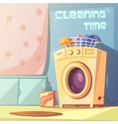 Cleaning time vector