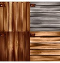 Wood texture wooden vector