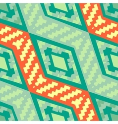 Turquoise green diagonal african geometric pattern vector