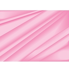 Pink silk texture abstract background vector image