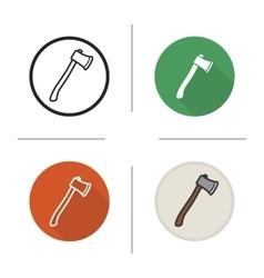 Axe icons vector