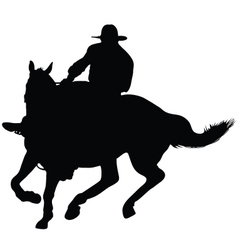 Horseman vector image