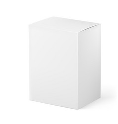 box on white background for design vector image