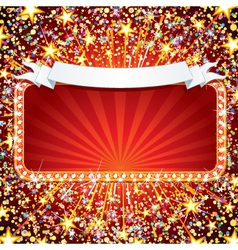 festive celebration background vector image