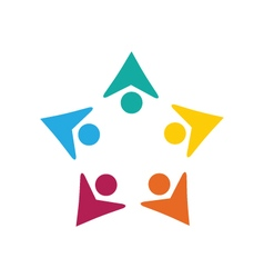 Adoption care logo vector