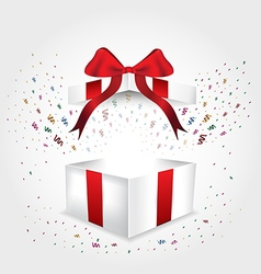 Giftbox chirstmas vector