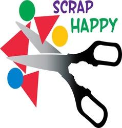 Scrap happy vector