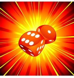 gambling illustration vector image