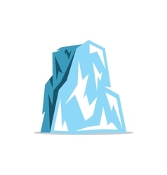 Iceberg cartoon vector