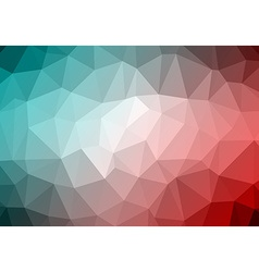 Abstract Retro Triangle Background vector image vector image