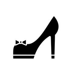shoues bridal icon sign o vector image vector image