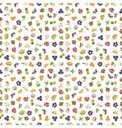 Vegetarian superfood healthy vegetable pattern vector
