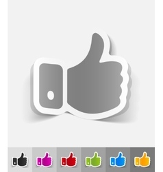 Realistic design element cool vector