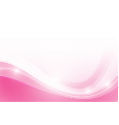 abstract pink background with simply curve vector image vector image