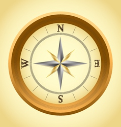 old compass vector image