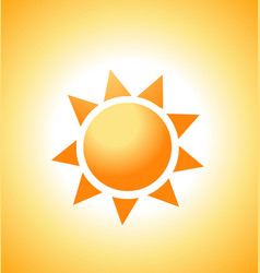 Sunrise sun vector