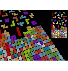 Vintage game background vector