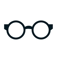 Reading glasses isolated icon vector