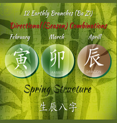 12branches combo bamboo vector