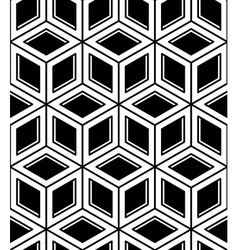 Seamless optical ornamental pattern with vector