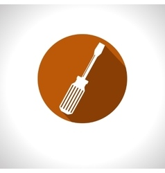 Screwdriver icon eps10 vector