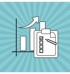 Infographic icon design vector image vector image