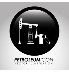 petroleum icon vector image vector image