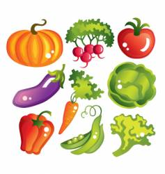 vegetables design vector image vector image