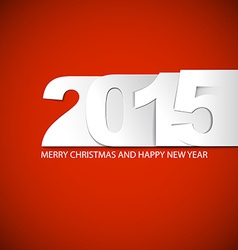 Original new year 2015 card vector