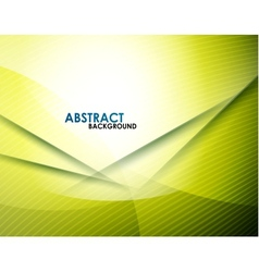 Abstract yellow lines vector image