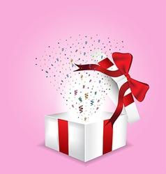 Giftbox chirstmas vector