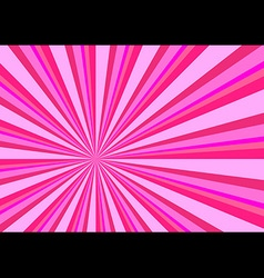 Light Ray Burst Abstract Background Pink vector image vector image