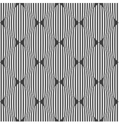 seamless checked striped pattern vector image