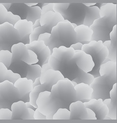 Abstract white cloud seamless pattern flow fog vector