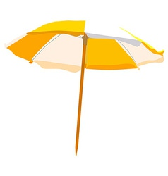 Beach umbrella vector image vector image