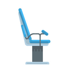 dental chair medical equipment vector image