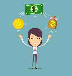 Financial advisor vector