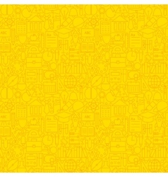Line Learning Yellow Tile Pattern vector image vector image