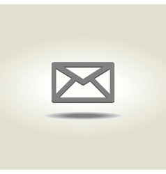 Mail or envelope icon vector